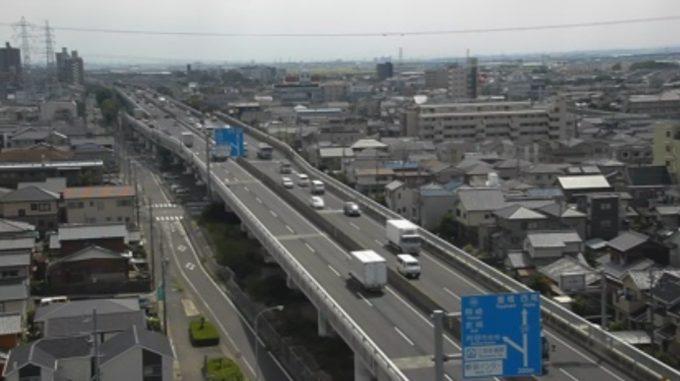 KATCH国道23号西中インターチェンジライブカメラ(愛知県刈谷市東刈谷町)