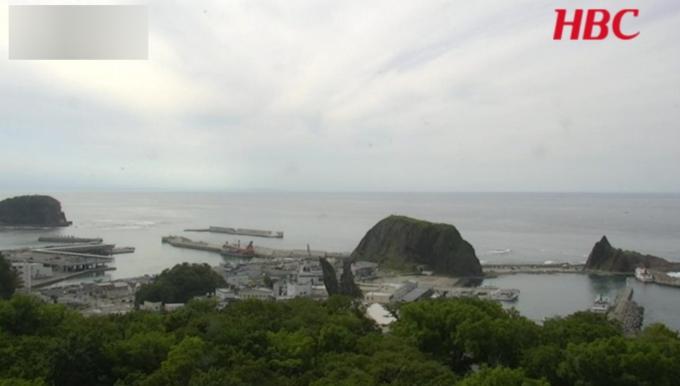 HBC斜里町ウトロライブカメラ(北海道斜里町ウトロ香川)