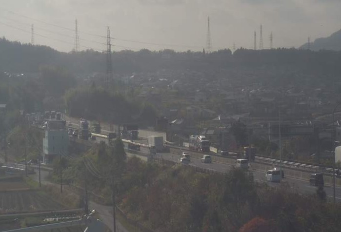 CTY東名阪自動車道四日市インターチェンジライブカメラ(三重県四日市市菅原町)