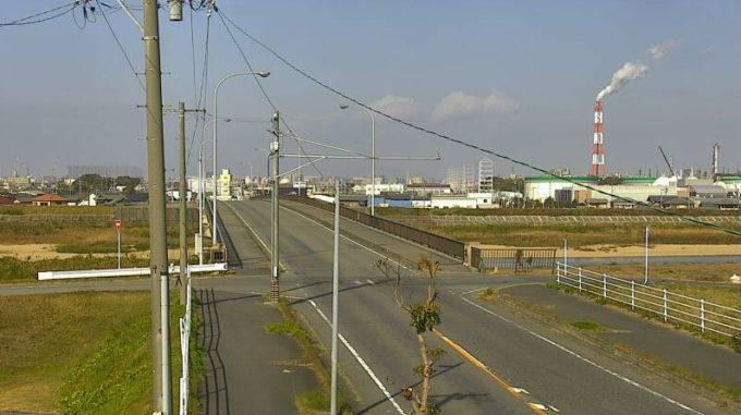 CTY鈴鹿川小倉橋ライブカメラ(三重県四日市市楠町小倉)