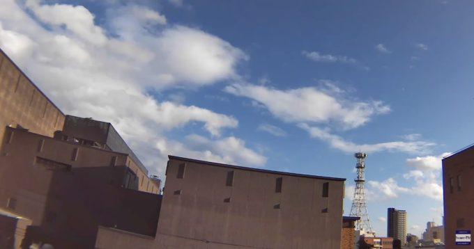 IwaminTV盛岡上空天気ライブカメラ(岩手県盛岡市内丸)