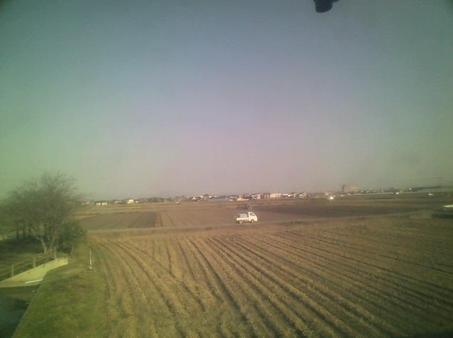 かもの家柳川市田園風景北方向ライブカメラ(福岡県柳川市三橋町)