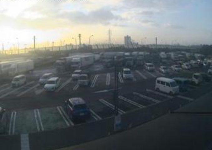 名神高速道路桂川パーキングエリア上りライブカメラ(京都府京都市南区)