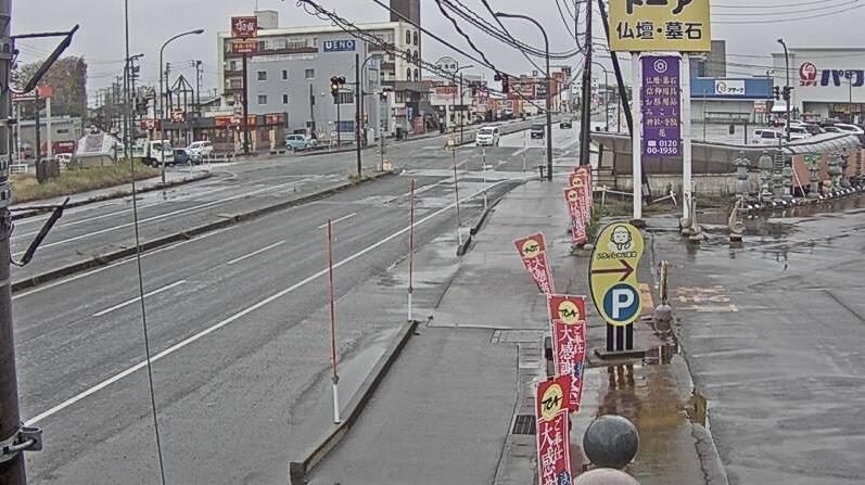NCT国道8号寺島交差点ライブカメラ(新潟県長岡市寺島町)