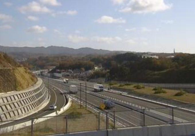 新名神高速道路川西インターチェンジライブカメラ(兵庫県川西市西畦野)