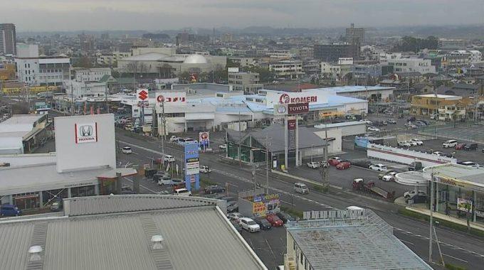 CTY国道23号白子駅前ライブカメラ(三重県鈴鹿市白子駅前)