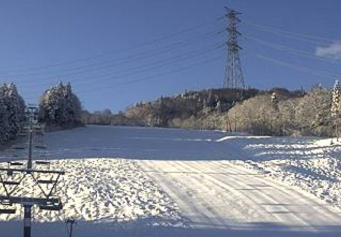 かぐらスキー場みつまたエリアライブカメラ(新潟県湯沢町三俣)