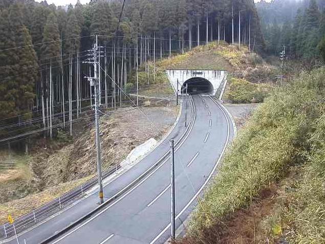 熊本県道134号中原夢トンネルライブカメラ(熊本県南小国町中原)