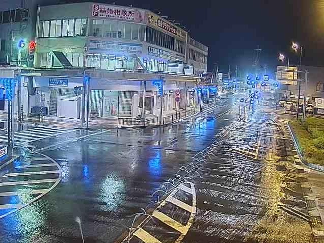 国道162号小浜駅前ライブカメラ(福井県小浜市駅前町)