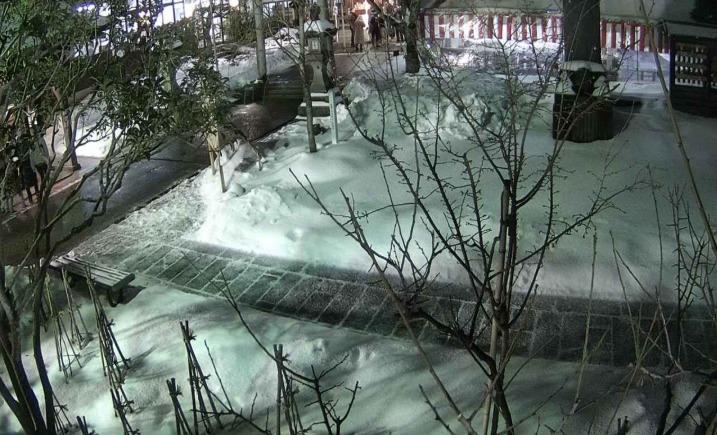 荘内神社ライブカメラ(山形県鶴岡市馬場町)