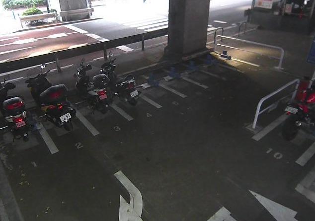 海岸二丁目オートバイ専用駐車場ライブカメラ(東京都港区海岸)