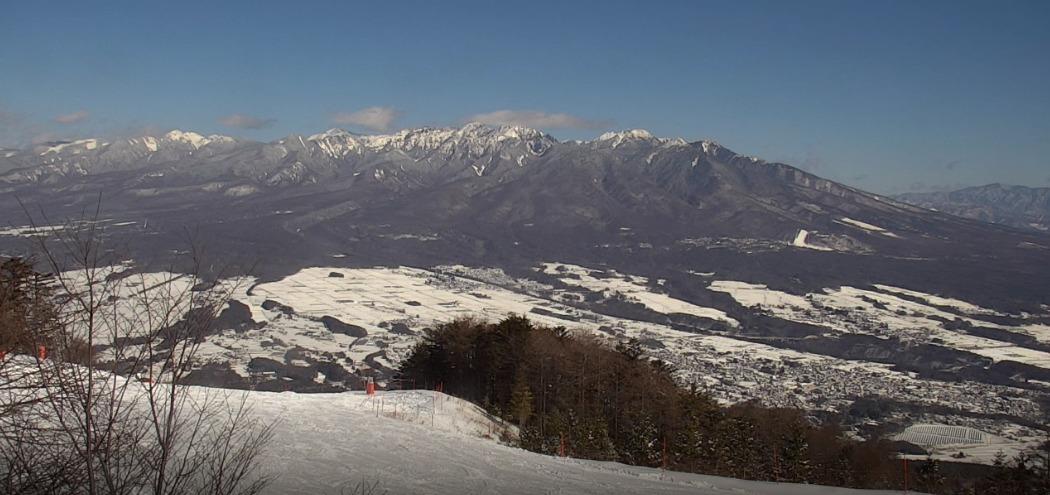 富士見パノラマリゾートスキー場高画質ライブカメラ(長野県富士見町富士見)