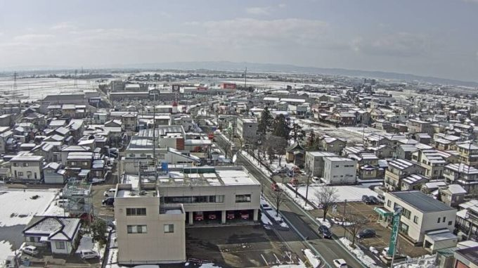 NCT見附市役所付近ライブカメラ(新潟県見附市昭和町)