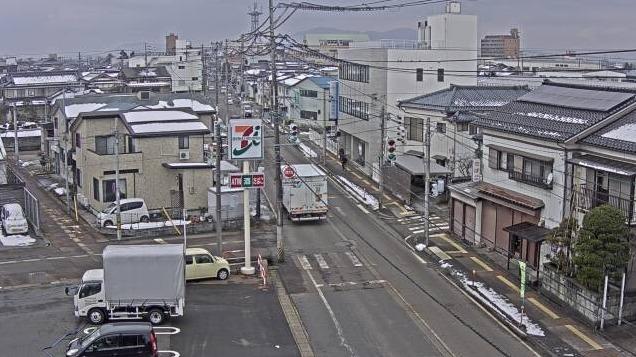 NCT新潟県道121号三条市林町1丁目付近ライブカメラ(新潟県三条市林町)