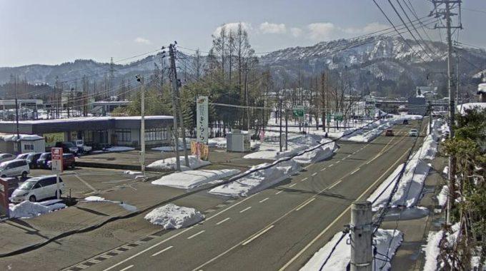 NCT小千谷インターチェンジライブカメラ(新潟県小千谷市桜町)