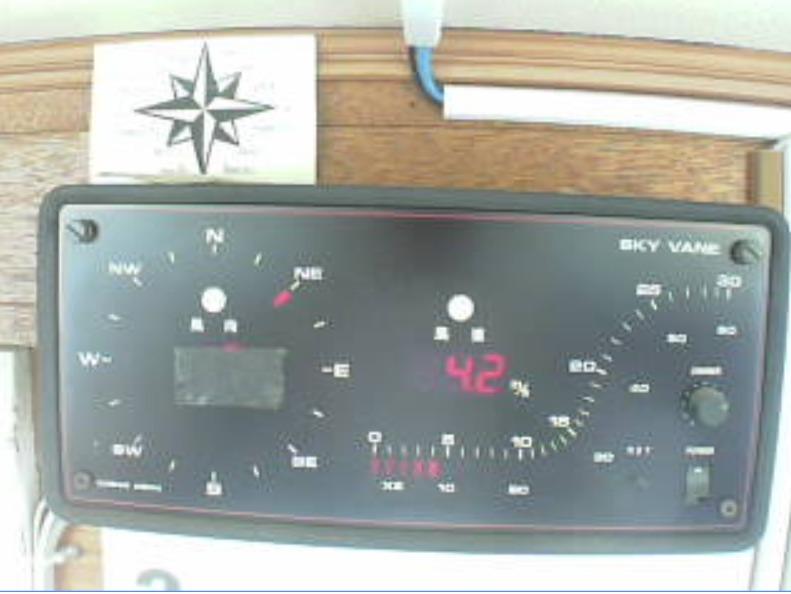 リビエラシーボニアマリーナ風向風速計ライブカメラ(神奈川県三浦市三崎町小網代)