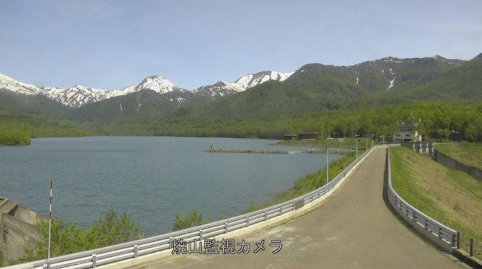 笹ヶ峰ダム焼山監視ライブカメラ(新潟県妙高市杉野沢)