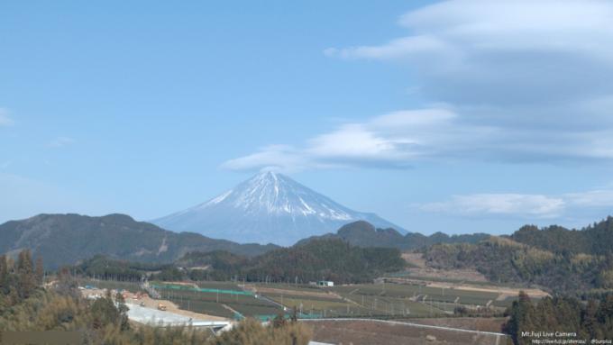ずっと富士山清水区吉原ライブカメラ(静岡県静岡市清水区)