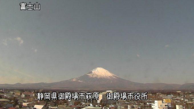 御殿場市役所富士山ライブカメラ(静岡県御殿場市萩原)