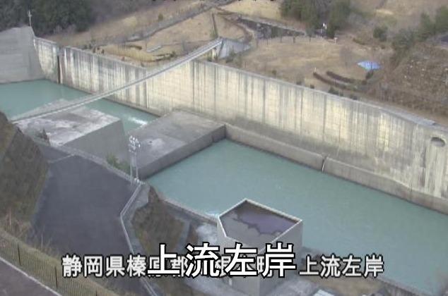 長島ダム上流左岸ライブカメラ(静岡県川根本町犬間)
