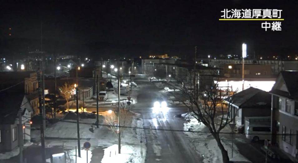 NHK北海道厚真町ライブカメラ