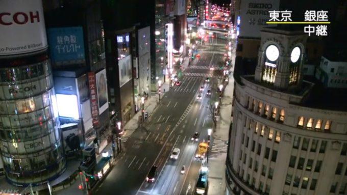 NHK銀座ライブカメラ(東京都中央区銀座)