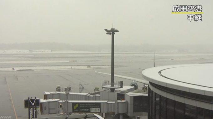 NHK成田国際空港ライブカメラ(千葉県成田市古込)