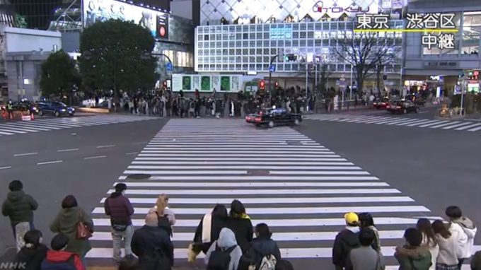 NHK渋谷駅ライブカメラ(東京都渋谷区道玄坂)