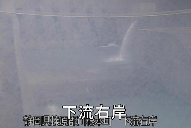 大井川下流右岸ライブカメラ(静岡県川根本町犬間)
