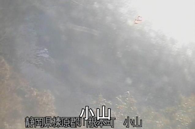 大井川小山ライブカメラ(静岡県川根本町奥泉)