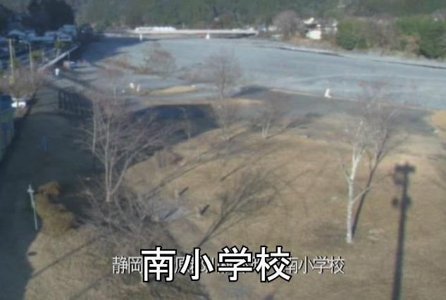 大井川南小学校ライブカメラ(静岡県川根本町千頭)