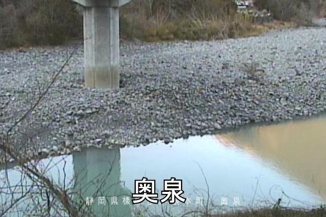 大井川奥泉ライブカメラ(静岡県川根本町奥泉)