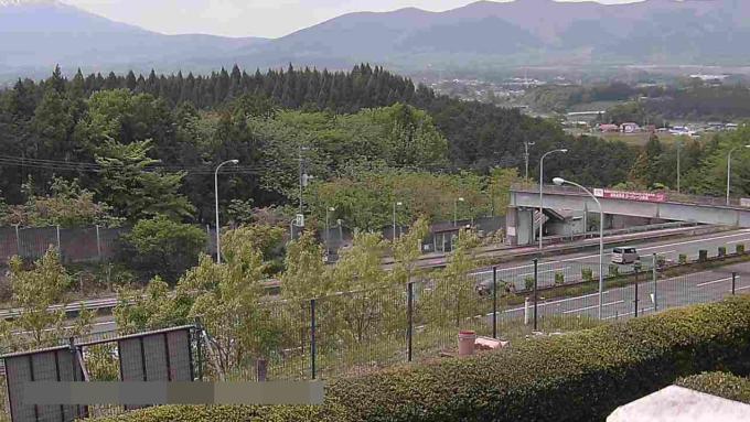 あしがら温泉東名足柄バス停ライブカメラ(静岡県小山町竹之下)