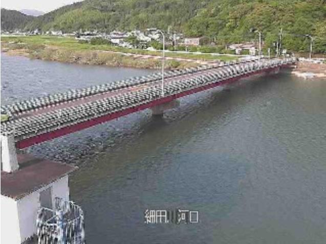 細田川河口ライブカメラ(宮崎県日南市)
