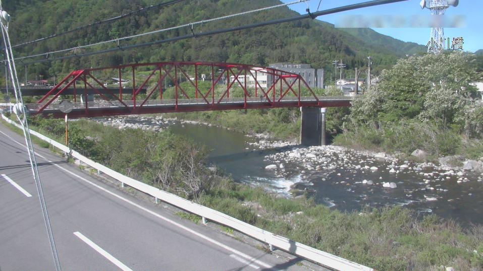 木曽川小川橋ライブカメラ(長野県上松町正島町)