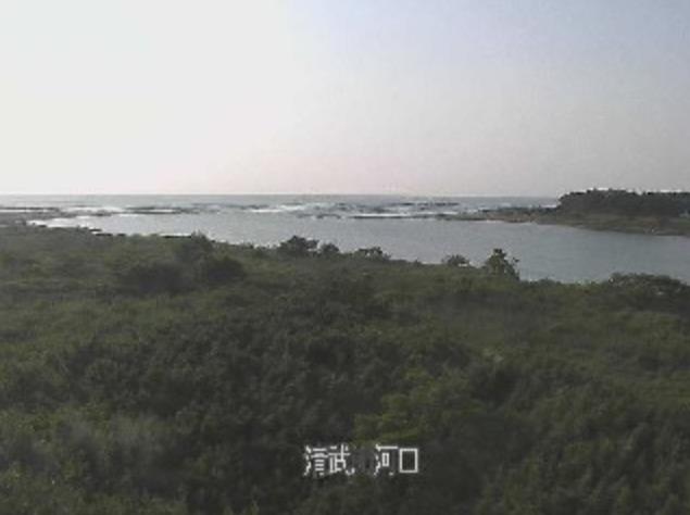 清武川河口ライブカメラ(宮崎県宮崎市熊野)
