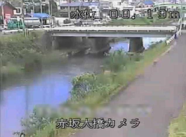 杭瀬川赤坂大橋ライブカメラ(岐阜県大垣市赤坂町)