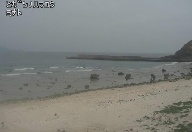 MBC平島東之浜港ライブカメラ(鹿児島県十島村平島)