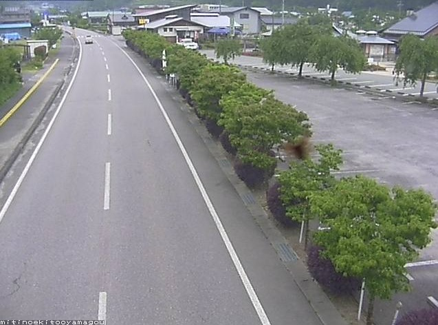 国道152号道の駅遠山郷ライブカメラ(長野県飯田市南信濃和田)