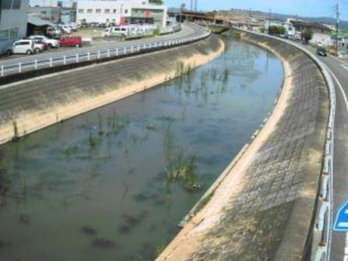 下弓削川下道添橋ライブカメラ(福岡県久留米市東合川)