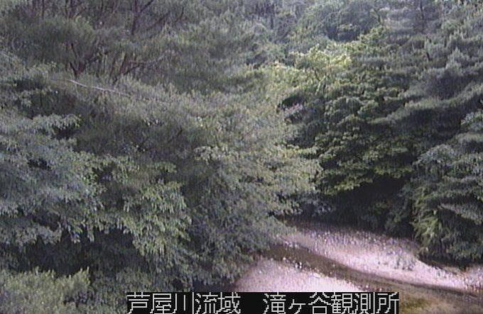 芦屋川流域滝ヶ谷ライブカメラ(兵庫県芦屋市奥池町)