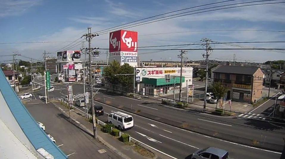 ちたまる大府高校北交差点ライブカメラ(愛知県大府市月見町)