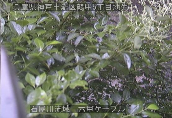 石屋川流域六甲ケーブルライブカメラ(兵庫県神戸市灘区)