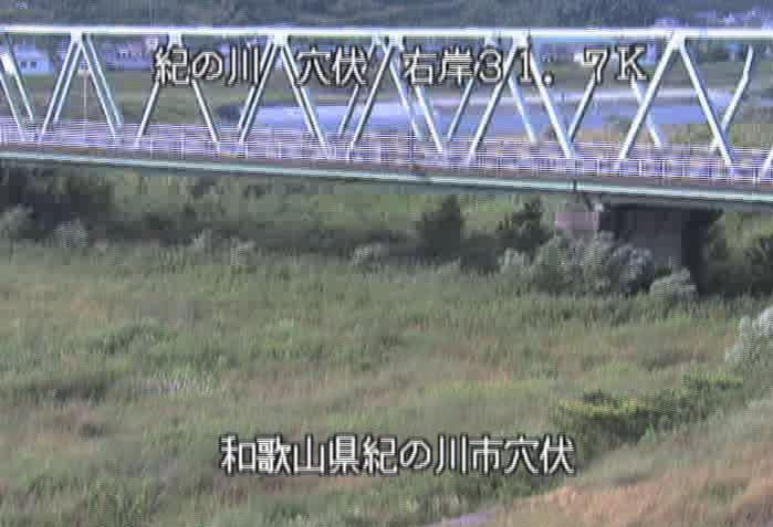 紀の川穴伏ライブカメラ(和歌山県紀の川市穴伏)