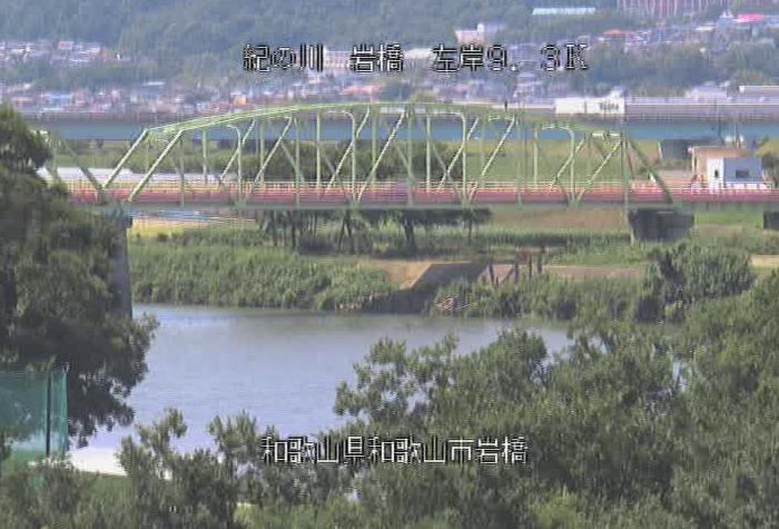 紀の川岩橋ライブカメラ(和歌山県和歌山市岩橋)
