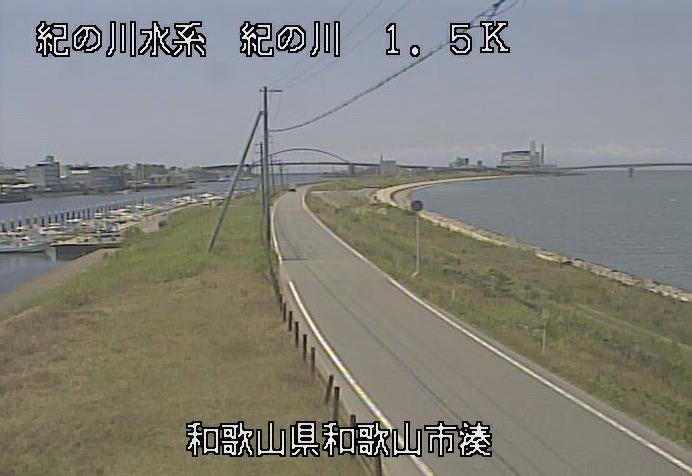 紀の川湊ライブカメラ(和歌山県和歌山市湊)