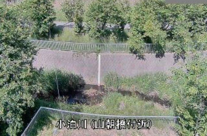 小泊川山朝橋ライブカメラ(青森県中泊町小泊朝間)