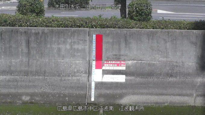旧太田川江波観測所ライブカメラ(広島県広島市中区)