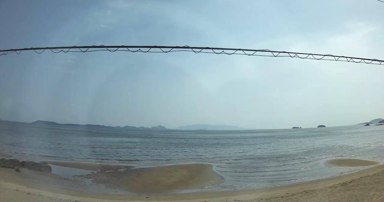 新舞子海水浴場福ヶ浜ライブカメラ(兵庫県たつの市黒崎)