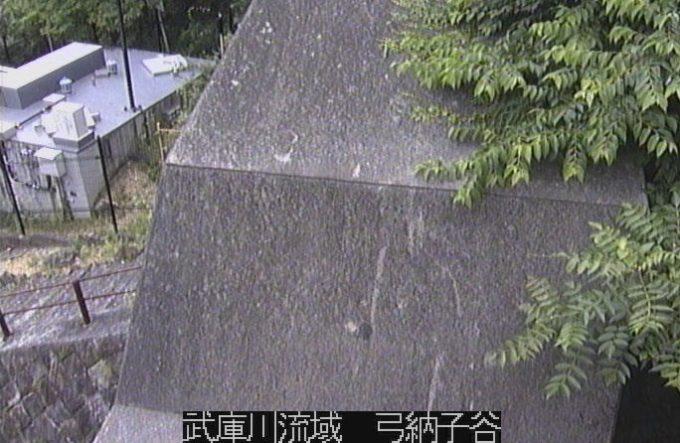 武庫川流域弓納子谷ライブカメラ(兵庫県西宮市生瀬高台)